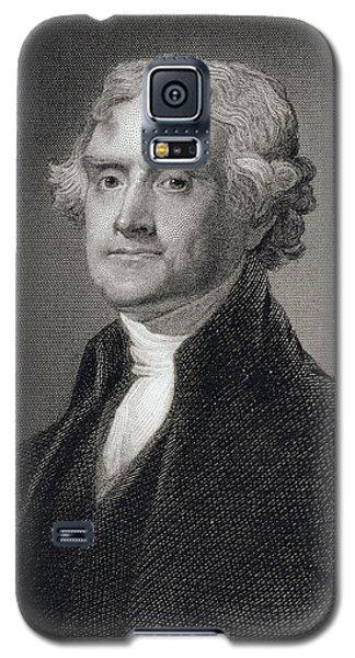 Thomas Jefferson Galaxy S5 Case by Gilbert Stuart