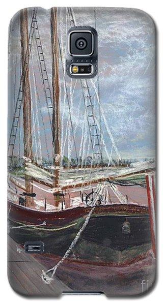 Thomas Lannon Schooner Galaxy S5 Case