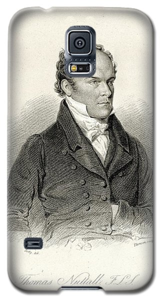 Thomas Nuttall Galaxy S5 Case by American Philosophical Society