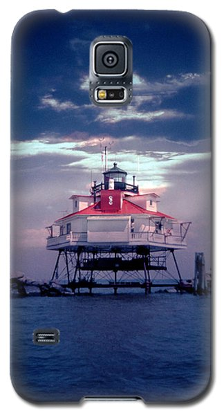 Thomas Point Shoal Lighthouse Galaxy S5 Case