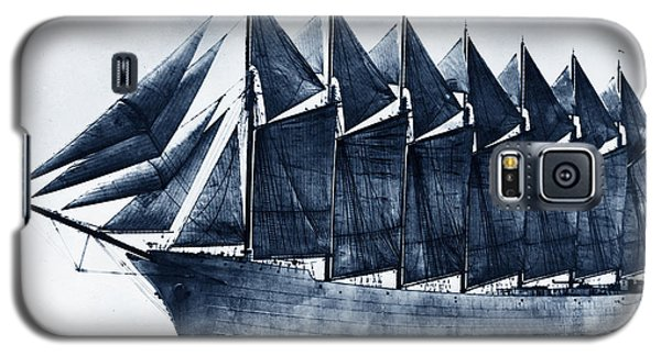 Thomas W. Lawson Seven-masted Schooner 1902 Galaxy S5 Case