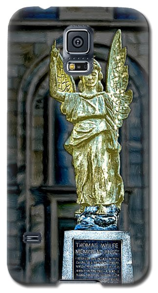 Thomas Wolfe Memorial Angel Galaxy S5 Case