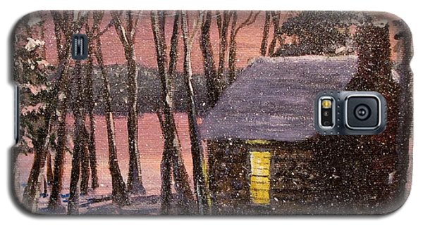 Thoreau's Cabin Galaxy S5 Case by Jack Skinner