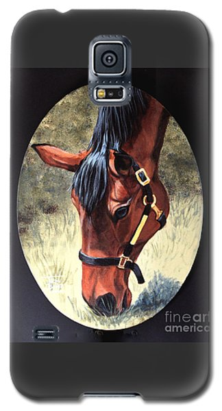Thoroughbred Head Galaxy S5 Case
