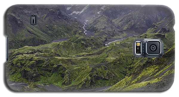 Thorsmork Toward Myrdalsjokull Galaxy S5 Case