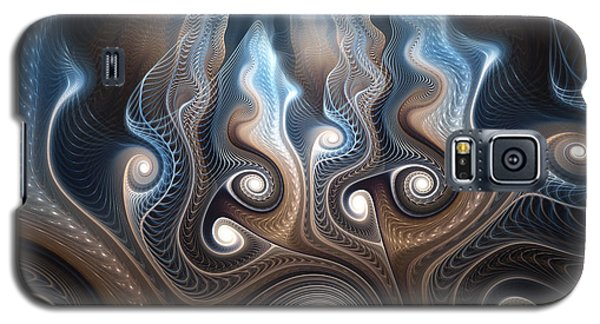 Galaxy S5 Case featuring the digital art Thought Forms by Svetlana Nikolova