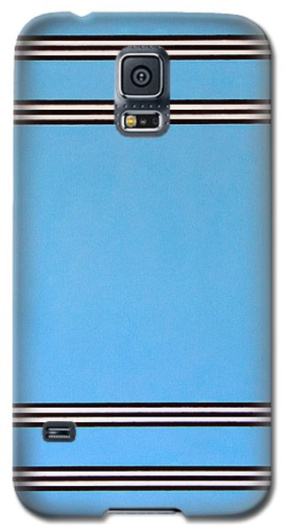 Galaxy S5 Case featuring the painting Thought by Thomas Gronowski