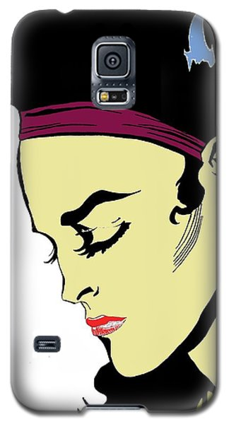 Thoughtful Woman 2 Galaxy S5 Case