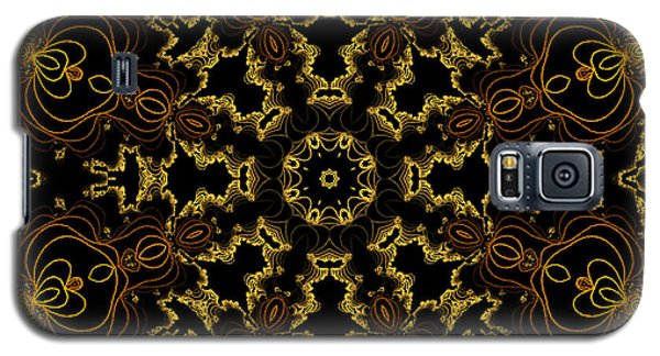 Galaxy S5 Case featuring the digital art Threads Of Gold And Plaits Of Silver by Owlspook