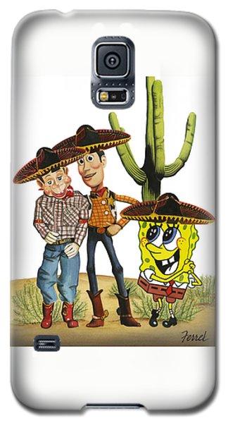 Three Amigos Galaxy S5 Case by Ferrel Cordle