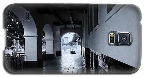 Galaxy S5 Case featuring the photograph Three Archways Olvera by Joseph Hollingsworth