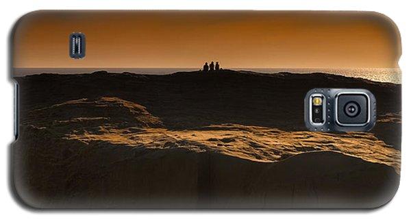 Three At Sunset Galaxy S5 Case