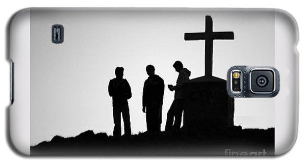 Three At The Cross Galaxy S5 Case