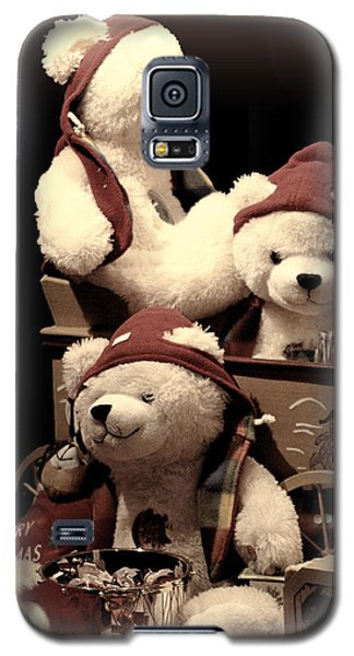 Three Bears Creative Galaxy S5 Case by Linda Phelps