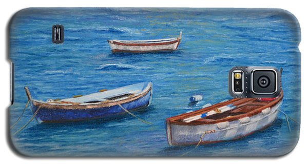 Three Boats Galaxy S5 Case