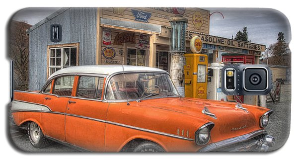Three Creeks Service Station Galaxy S5 Case by Kim Andelkovic