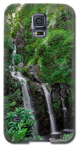 Three Falls On The Road To Hana Galaxy S5 Case