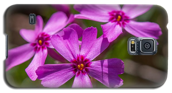 Three Flowers Galaxy S5 Case