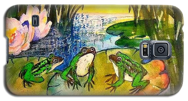 Three Frogs Galaxy S5 Case