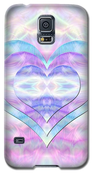 Three Hearts As One Galaxy S5 Case