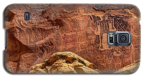 Three Kings Petroglyph - Mcconkie Ranch - Utah Galaxy S5 Case