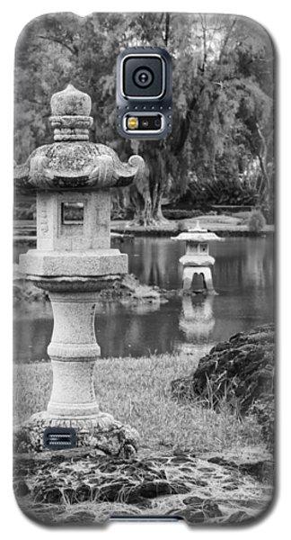 Galaxy S5 Case featuring the photograph Three Lanterns by Harold Rau