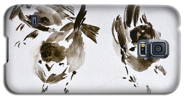 Three Little Birds Perch By My Doorstep Galaxy S5 Case