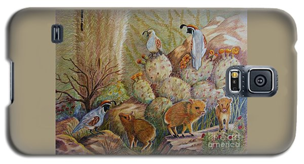 Three Little Javelinas Galaxy S5 Case