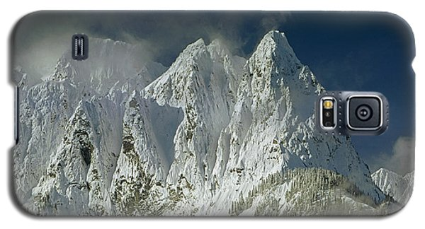1m4503-three Peaks Of Mt. Index Galaxy S5 Case