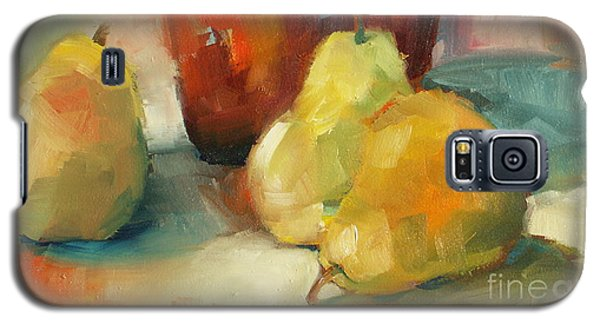 Three Pears And A Pot Galaxy S5 Case by Michelle Abrams