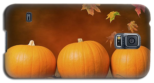 Three Pumpkins Galaxy S5 Case