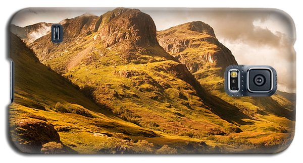 Three Sisters. Glencoe. Scotland Galaxy S5 Case by Jenny Rainbow