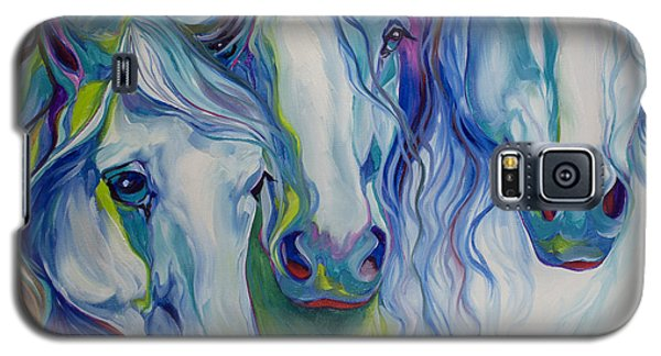 Three Spirits Equine Galaxy S5 Case