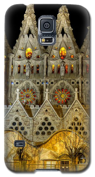 Three Tiers - Sagrada Familia At Night - Gaudi Galaxy S5 Case