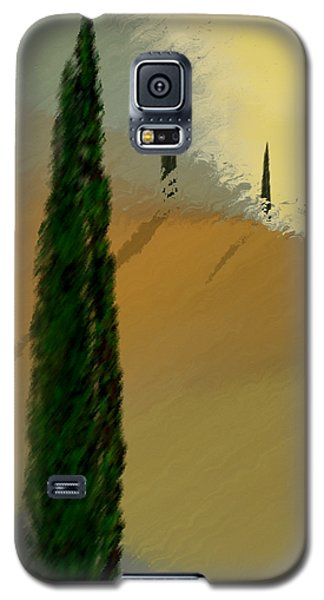 Three Tree Tuscany Galaxy S5 Case