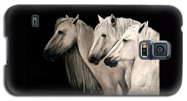 Three White Horses Galaxy S5 Case