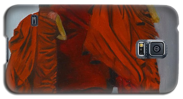 Three Young Monks Galaxy S5 Case
