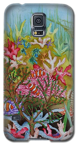 Thriving Ocean -sunken Ship Galaxy S5 Case by Katherine Young-Beck