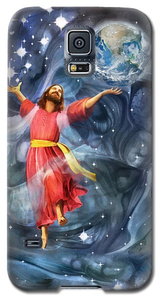 Through Him Galaxy S5 Case by Francesa Miller