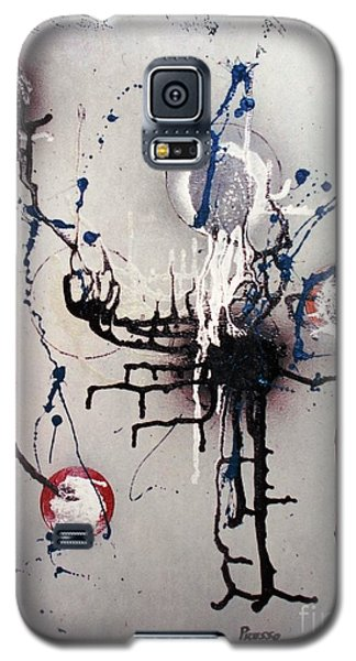 Galaxy S5 Case featuring the painting Through Mezcal Soaked Eyes by Roberto Prusso