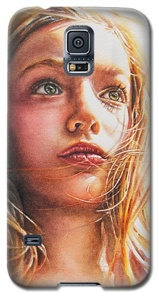 Through The Eyes Of A Child Galaxy S5 Case