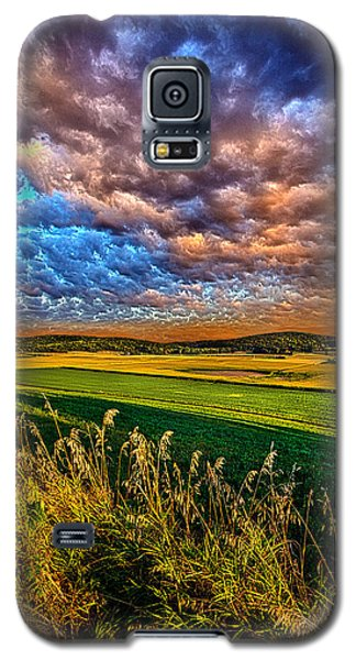 Through The Valley Galaxy S5 Case by Phil Koch