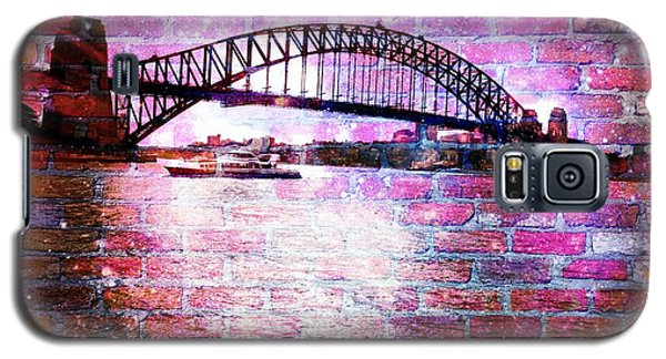 Sydney Harbour Through The Wall 1 Galaxy S5 Case