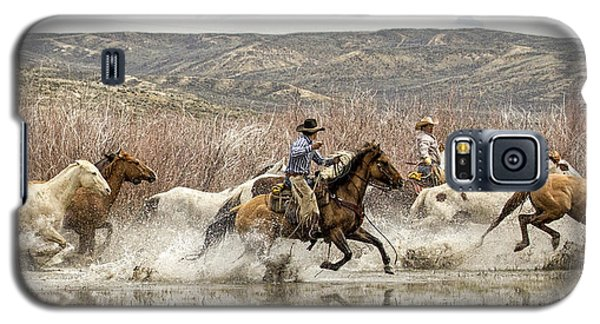 Galaxy S5 Case featuring the photograph Through The Water I by Joan Davis