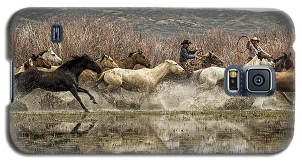 Galaxy S5 Case featuring the photograph Through The Water II by Joan Davis