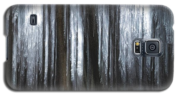 Galaxy S5 Case featuring the photograph Through The Woods by Steven Huszar