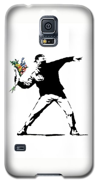 Throwing Love Galaxy S5 Case