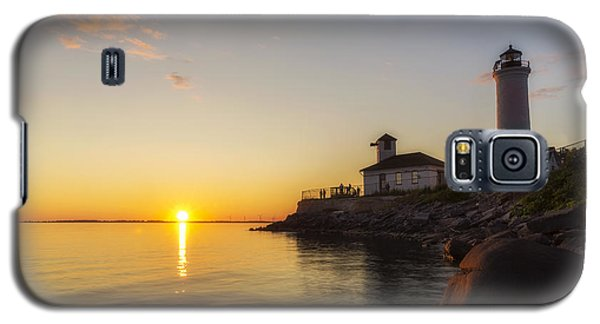 Tibbetts Point Lighthouse Galaxy S5 Case by Mark Papke