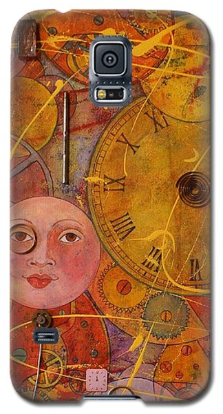 Tic Toc Galaxy S5 Case by Jane Chesnut