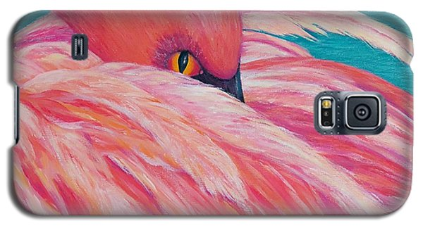 Tickled Pink Galaxy S5 Case by Susan DeLain
